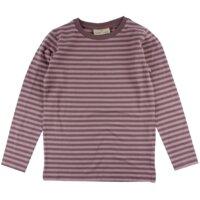 T-Shirt Med Lange Ærmer - Blomme