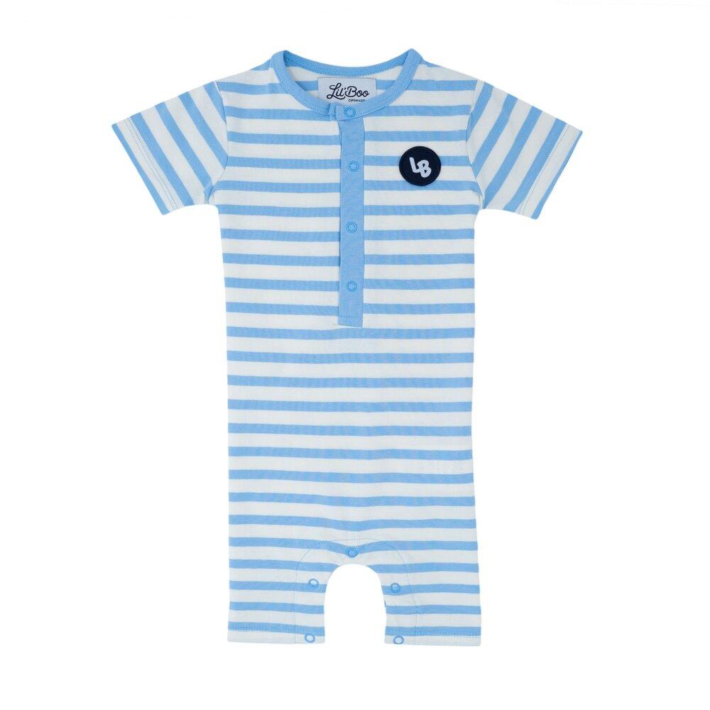 Image of Lil' Boo Classic stripes heldragt - HVID/BLÅ (978b1e87-4f6a-44c8-b1e6-366c4ad2f96a)