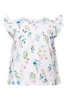 Mini flower field poplin blouse - 549