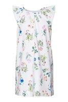 Mini flower field poplin kjole - 549