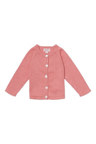 Baby basic light knit cardigan - 800