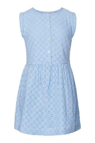 Mini brodery anglaise kjole - 1098
