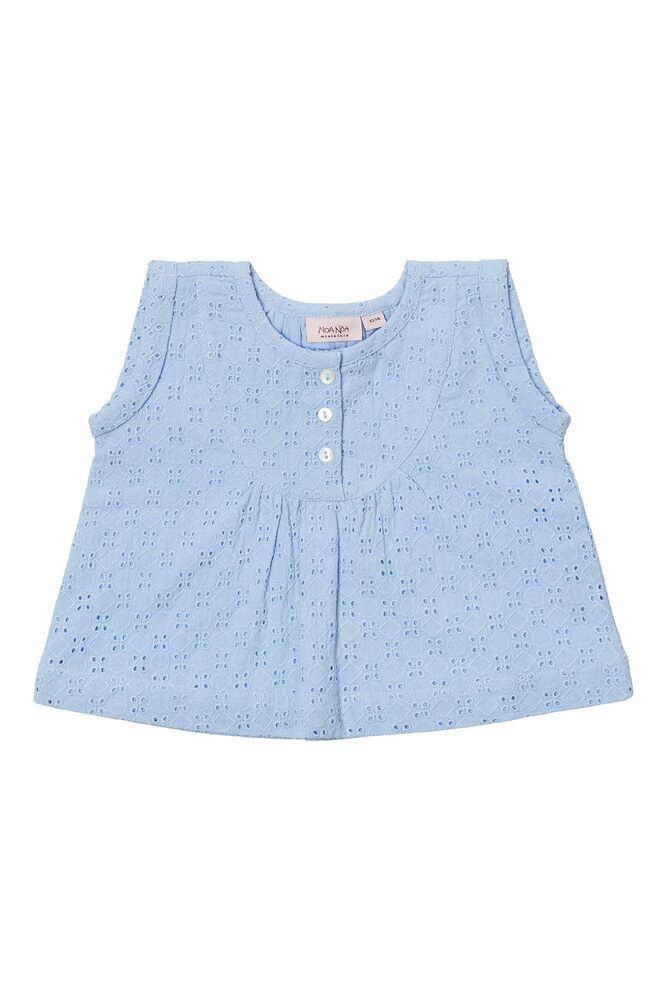 Image of Noa Noa Miniature Baby brodery anglaise blouse - 1098 (088adf0d-41a8-4872-8410-192fc6227399)