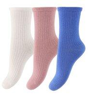 Mini 3-pak ankle sokker - 841