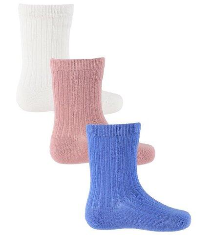 Baby 3-pak ankle sokker - 841