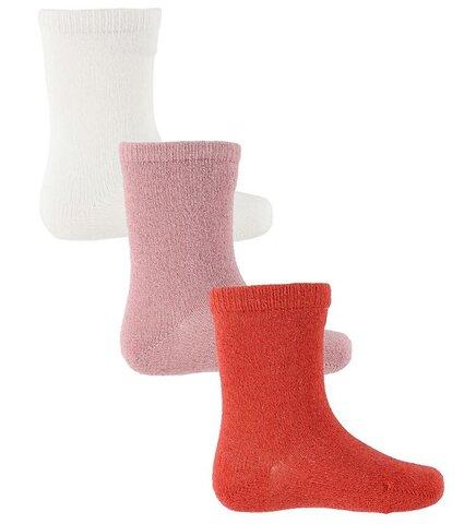 Baby 3-pak glitter ankle sokker - 841