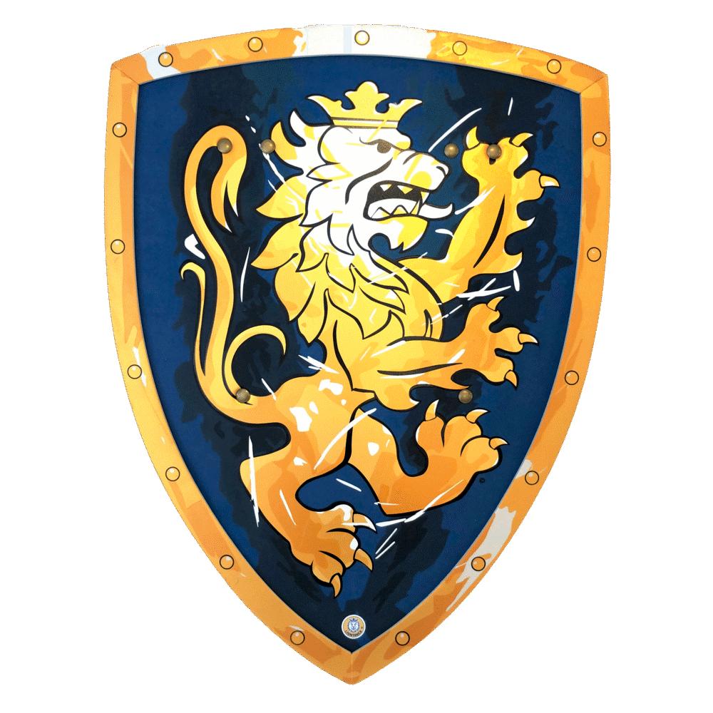 Image of Lion Touch Noble Knight ridderskjold, blåt (22787414-c28d-4ae0-b25f-b02d42e025b9)