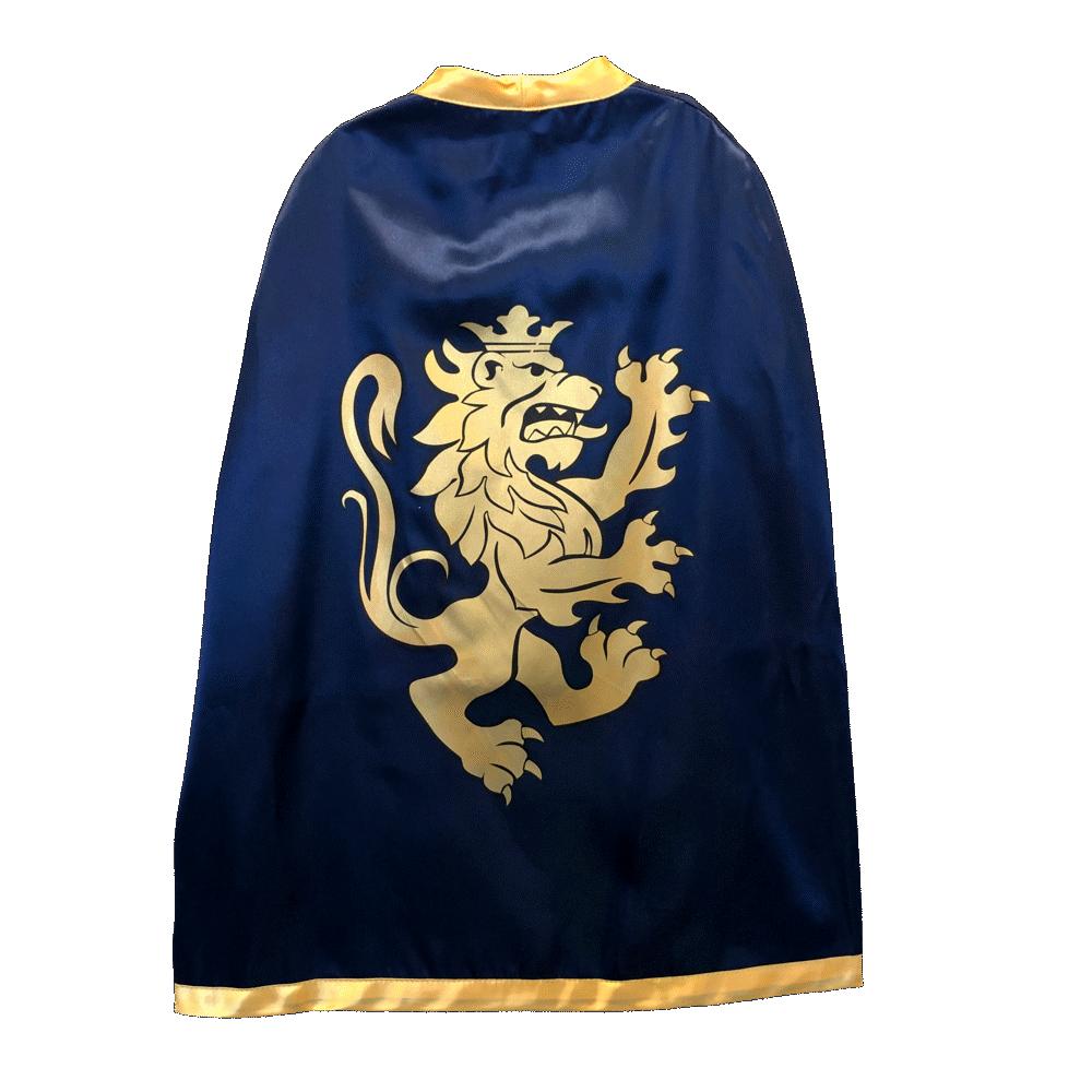 Image of Lion Touch Noble Knight ridderkappe, blå (8e0001da-8740-443c-b802-b42d66b40bf9)