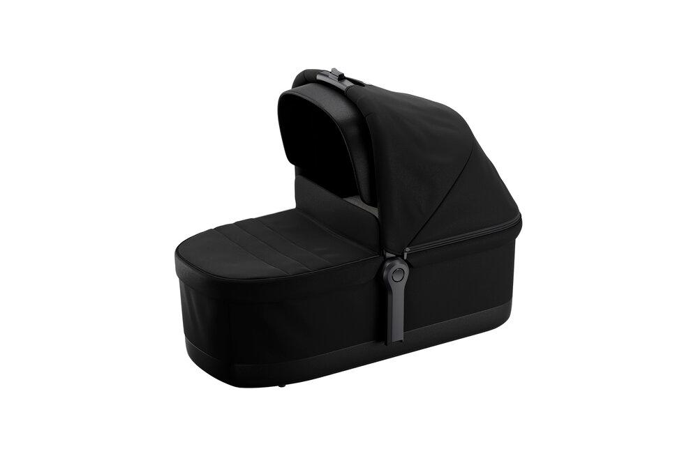 Image of Thule Sleek Carrycot, Black On Black (d2077c01-b619-44b2-bbbb-aab47f6445d6)