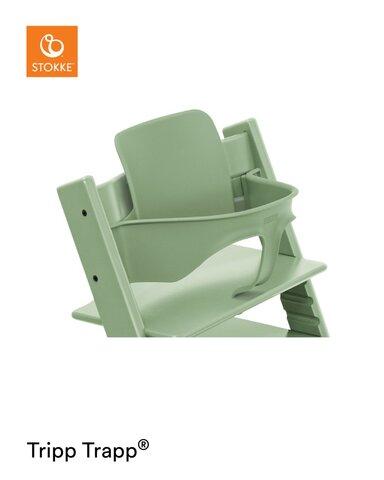 Babysæt - moss green