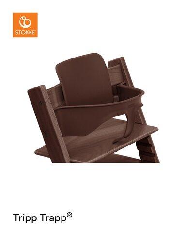 Babysæt til Tripp Trapp stol - Valnød