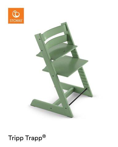 Højstol - moss green