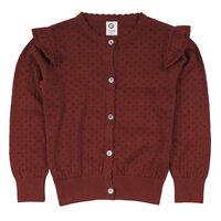 Knit cuff cardigan - 019143501