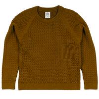 Knit pocket sweater - 018084001