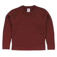 Knit pocket sweater - 019143501