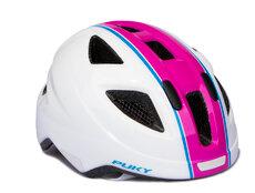 PH 8-M Cykelhjelm, Hvid/pink