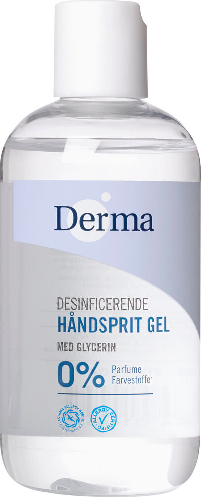 Image of Derma Family Håndsprit 250 ml. (4ec33712-0da7-401b-8d7d-f8a793031e0b)
