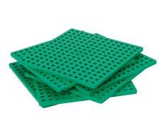 Byggeplade / 2 stk. grønne