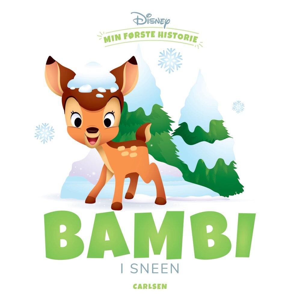 Image of Lindhardt og Ringhof Min første historie: Bambi i sneen (bde803fc-99e9-4006-a974-8c38b13a68d6)
