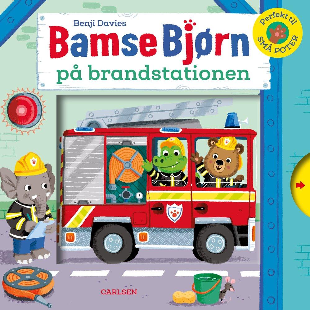 Image of Lindhardt og Ringhof Bamse Bjørn på brandstationen (c4dbe9f6-f6e2-43de-a6bc-819494625736)