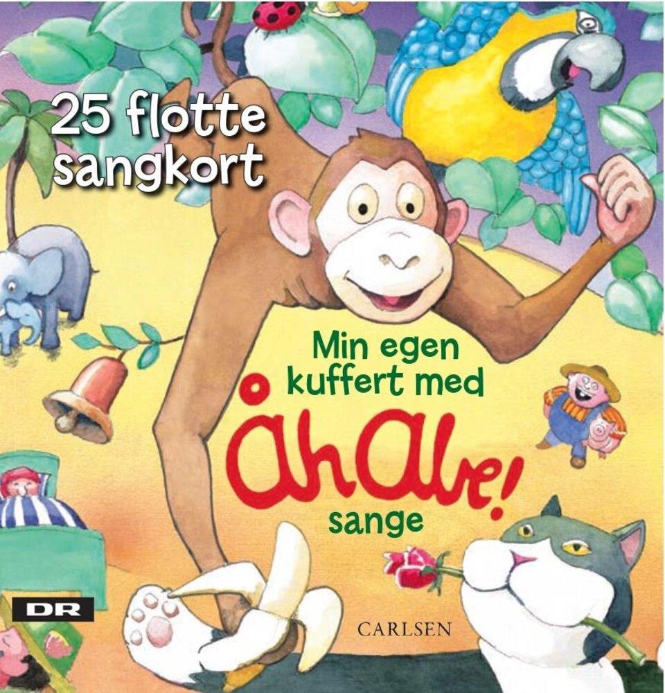 Image of Lindhardt og Ringhof Min egen kuffert med Åh abe-sange (fc0c4415-e54d-4ede-aefb-5883306fbb2a)