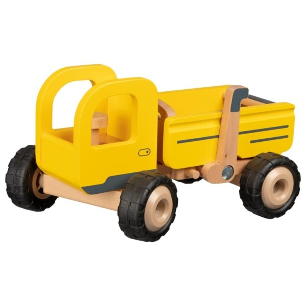 Image of Goki Dump truck i træ (4d6065b2-8327-42e8-83f7-4943756c36e5)