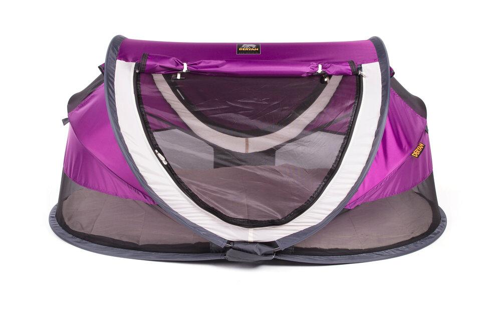 Image of Deryan Pop-Up Rejseseng Peuter Luxe - purple (f1bb8ce8-d736-446b-9ba7-d4ae9044f316)