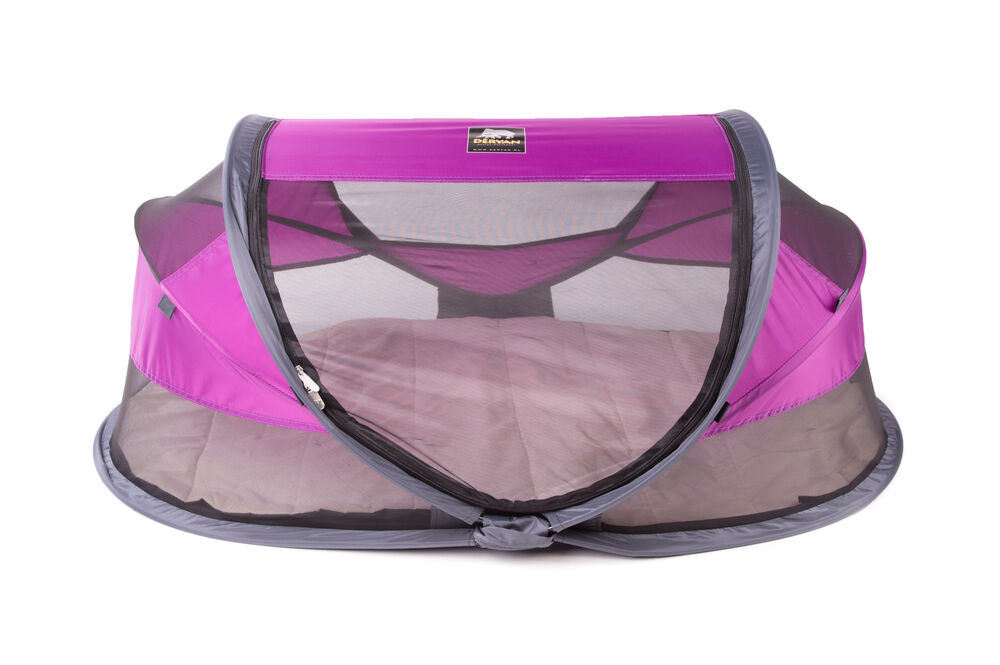 Image of Deryan Pop-Up Rejseseng Baby Luxe - purple (b78c7998-ce6d-4f73-a019-b239aab8f38f)