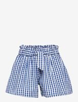 Mini blue check shorts - 477