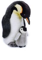 Pingvin Med Baby Bamse