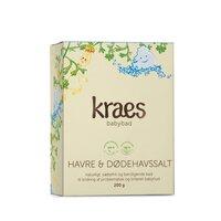 Kraes Babybad med Havre/Dødehavssalt 200 g.