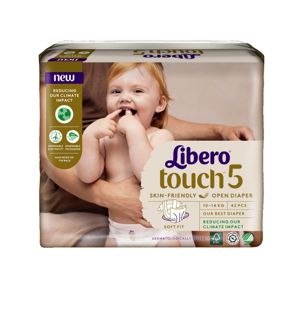 Image of Libero Touch (Str.5) 10-14 kg. (89947f49-ac6a-43be-8e43-1a0e5b10ce8a)