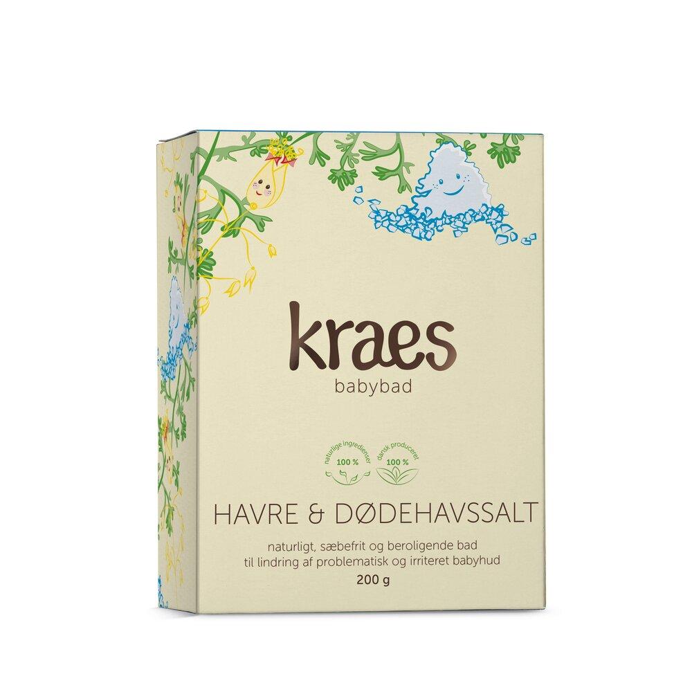 Image of Kraes Babybad med Havre/Dødehavssalt 200 g. (1d279865-47f2-4aee-9e84-d7bd98a5ce89)