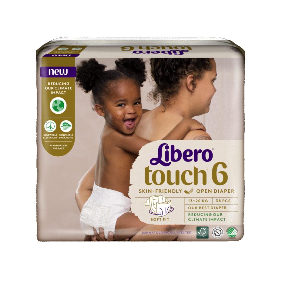 Image of Libero Touch (Str.6) 13-20 kg. (fa89bf17-0863-412d-98d6-e3a674388795)