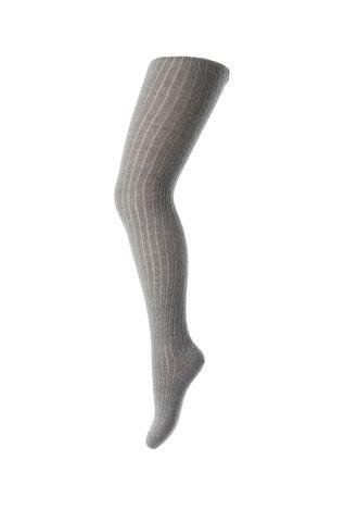 Basic rib strømpebuks - 491