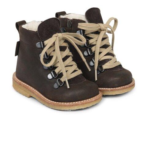 Begynder TEX-støvle med snøre og lynlås - 8218