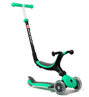 4-i-1 foldbar scooter, grøn