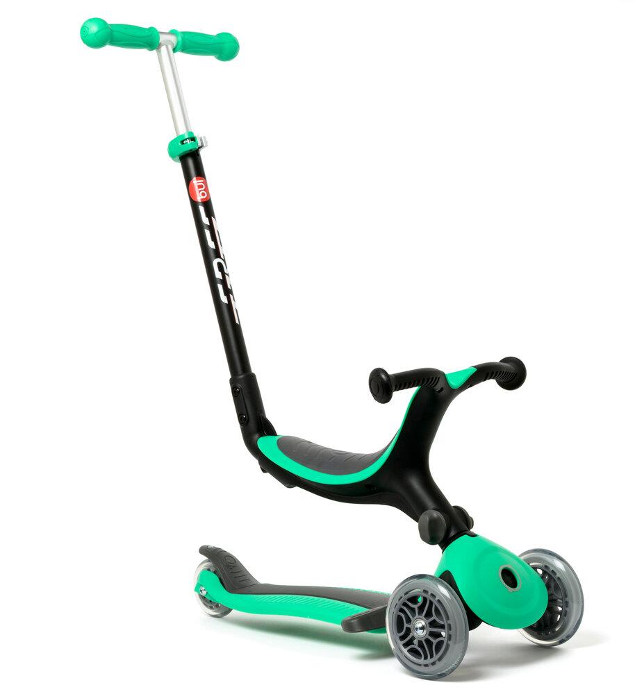 Image of Oxybul 4-i-1 foldbar scooter, grøn (b845a64d-a37e-42c1-bdc9-72d0660d47f7)