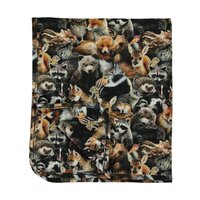 Niles plaid forest animals