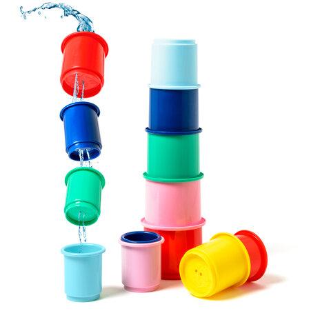 10 Stablekopper i plast