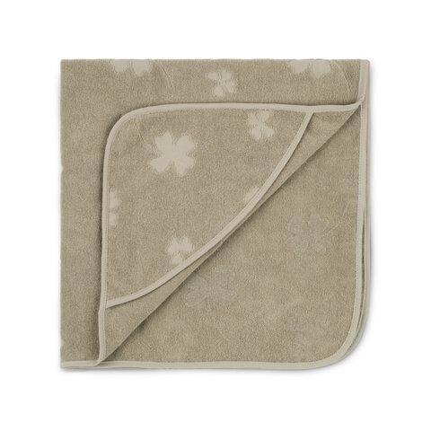 Badehåndklæde med hætte kløver-Eucalyptus