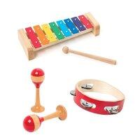 Sæt med 3 musikinstrumenter