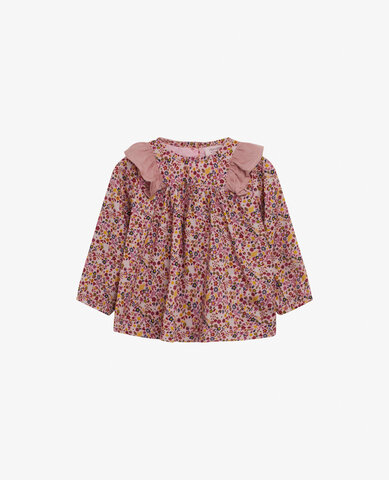 Baby ditzy flower bluse - 718