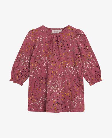Baby tiny leaf jersey kjole - 718