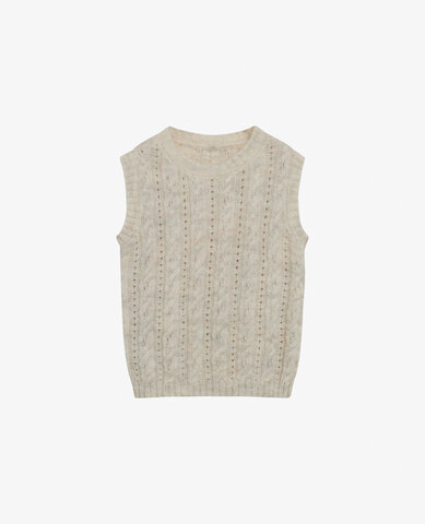 Mini uld blend vest - 1201