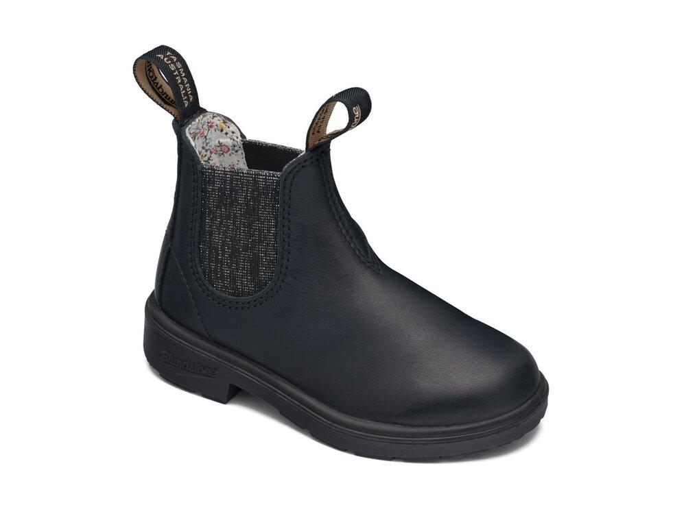 BLUNDSTONE Støvle med elastik i siden - SILV GLIT