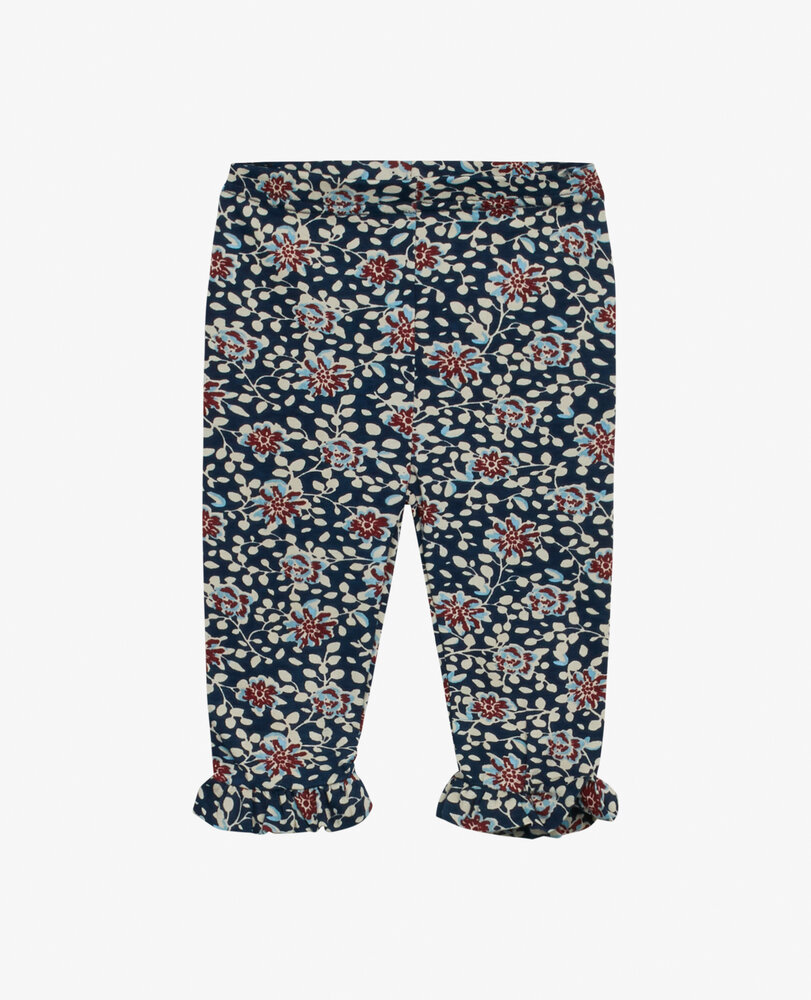 Image of Noa Noa Miniature Baby blue flower jersey leggings - 464 (cee0606b-fa81-42ad-8331-ee98de2cbc0c)