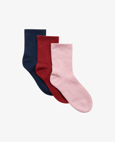 Mini 3-pack ankle sock strømper - 841