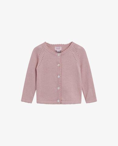 Baby basic light knit cardigan - 774