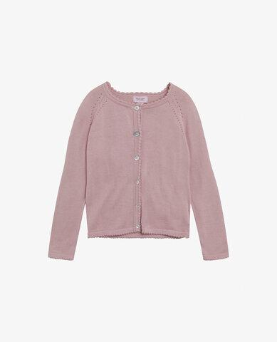 Mini basic light knit cardigan - 774